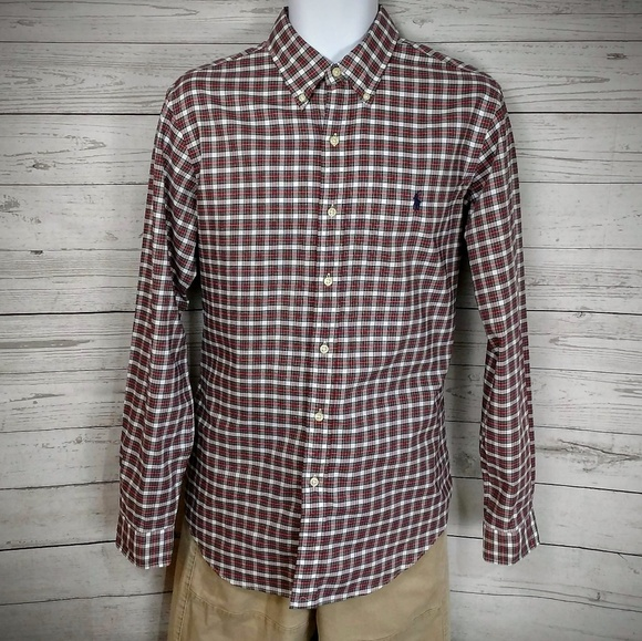 9c1fcabb05d84 Polo by Ralph Lauren Shirts | Polo Ralph Lauren Long Sleeve Plaid ...